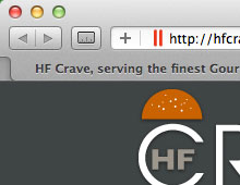 HF Crave Website Design & Email Newsletter Design