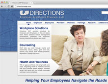 Directions EAP Website Design